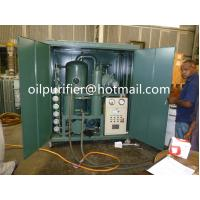 China Onsite working transformer oil dehydrator, insulation oil degassing system, cable oil processing oil purifier machine, wholesale