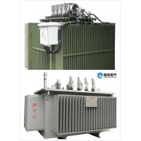 Overload Oil Immersed Transformer 10 KV - 400 KVA Oil Cooled Transformers