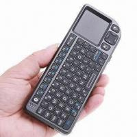 China 4-in-1 Rii Mini Wireless Bluetooth Keyboard with Mouse, Touchpad, for iPad 2, iPhone 4 on sale