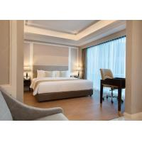 China Hospitality Hotel Suite Furniture Used High Light Veneer Hotel Wooden Furniture wholesale