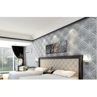 China Fashion Modern Wood 3D Living Room Wallpaper for Home Wall  / Wall Art 3D Wall Panels wholesale