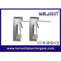 China Security Control Tripod Turnstile Gate , Turnstile Entry Systems 1 Year Warranty wholesale