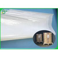 China Greaseproof Food Grade 40gsm 50gsm 60gsm+10g PE Coated Paper For Food Packages on sale