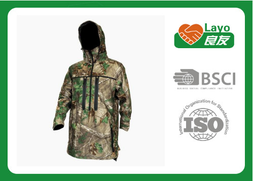 Quality Customized Outdoor Waterproof Rain Jacket For Women / Men Military for sale