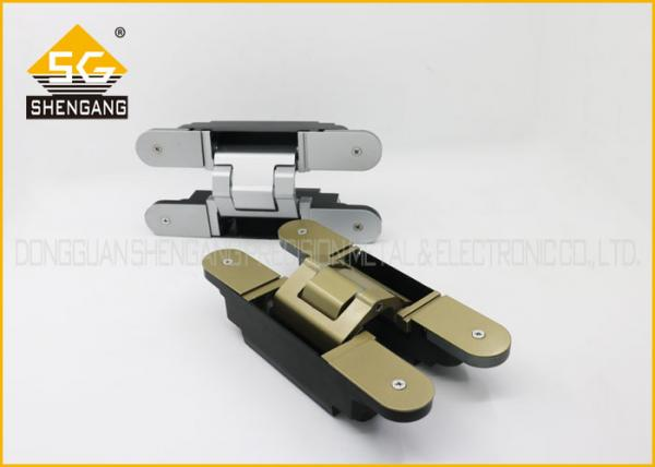 Quality Metal 180 Degree 3d Concealed Adjustable Gate Hinges Heavy Duty for sale