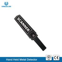 China Durable Hand Held Wand Scanner Metal Detector 9V Battery For Guard Security Checking wholesale