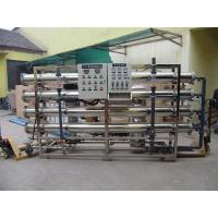 China Commercial Water Treatment Systems 5-10T / Hour Sewage RO System For Mineral Water on sale