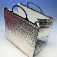 China Aluminum Foil Food Thermal Bags , Thermal Insulated Bags With Portable Handle wholesale