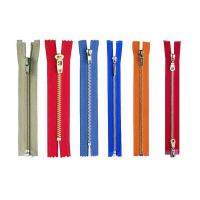 China High Polished Metal Zipper With Invisible , Heavy Duty Zipper Pulls wholesale