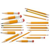 China Cheapest and Good Quality Black Lead School & Office Wooden Pencil with eraser wholesale