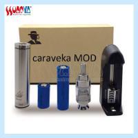 Awesome fashionable gift e-cigarette vaporizer mechanical mod caravela kit