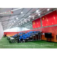 China 40M Wide Outdoor Exhibition Tents Camouflage PVC Roof Cover Multifunctional wholesale