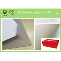China 250g One Side Coated Grey Back Duplex Board Paper For Printing Box wholesale
