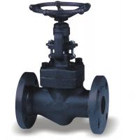 China DN15 - DN50 ANSI API Seal Forged Steel Globe Valve Socket - Welding Pressure on sale