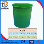 China food grade PE rotomoulding round barrels strong and durable wholesale