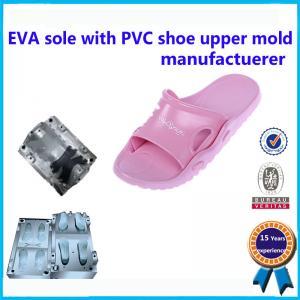China Two Color EVA Mould Durable Aluminum / Steel Sandal Shoe  Mould wholesale
