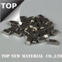 China Timber Industry Cobalt Chrome Alloy Saw Tips High Temperature Resistance Silver Color wholesale