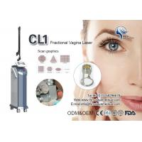 Air Cooling Fractional Co2 Laser Machine / CO2 Scar Removal , Wrinkle Removing Machine