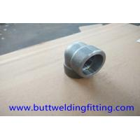 China Alloy 32750 STD UNS S32750 Forged Pipe Fittings 90 Degree LR Forged Elbow ASME B16.11 wholesale