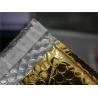 China Gold Metallic Padded Envelopes , 260x350 #A4-2VD Foil Bubble Wrap Envelopes wholesale