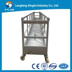 China suspended platform/ construction gondola hoist / suspended cradle for window cleaning on sale