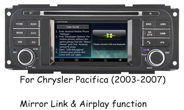 Quality Audio Video Chrysler DVD Player ,  Chrysler Pacifica Navigation DVD Stereo 2003 - 2007 for sale