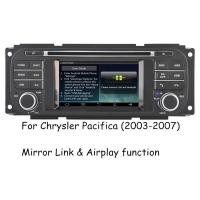 China Audio Video Chrysler DVD Player ,  Chrysler Pacifica Navigation DVD Stereo 2003 - 2007 wholesale