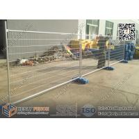 China AS4687-2007 Tempoary Fencing shop Melbourne with orange Plastic block on sale