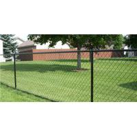 China Green PVC coated Galvanized Chain Link Fence wholesale