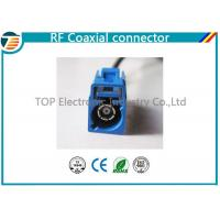 China Low Loss FAKRA Female Male RF Coaxial Connector RG174 Double Locked wholesale