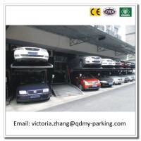 China Cheap Two Post Tilting Car Parking Lift Doulbe Car Parking System Auto Parking Equipment wholesale