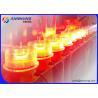 China Luz de obstrução média resistente ao calor da intensidade/luzes de advertência FAA L864 da torre wholesale