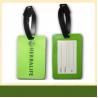 China Custom Rubber Label Embossed 3D Soft PVC Luggage tag fridge magnet wholesale