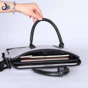 China 2018 wholesale eco-friendly good quality Cheap business laptop bag felt laptop bag for men on sale