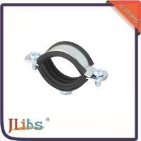 China Wall Mount Cast Iron Pipe Clamps One Side Open One Side Closed 4 Point Welding wholesale