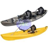 China LLDPE And HDPE Roto Molded Plastic Kayak For Single Or Double Person Boat wholesale