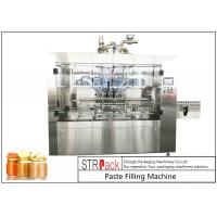 China Automatic Linear Baby Food Paste Filling Machine With Servo Driven Pump wholesale