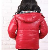 China the newest style red , blue waterproof windproof winter down coat for kids on sale