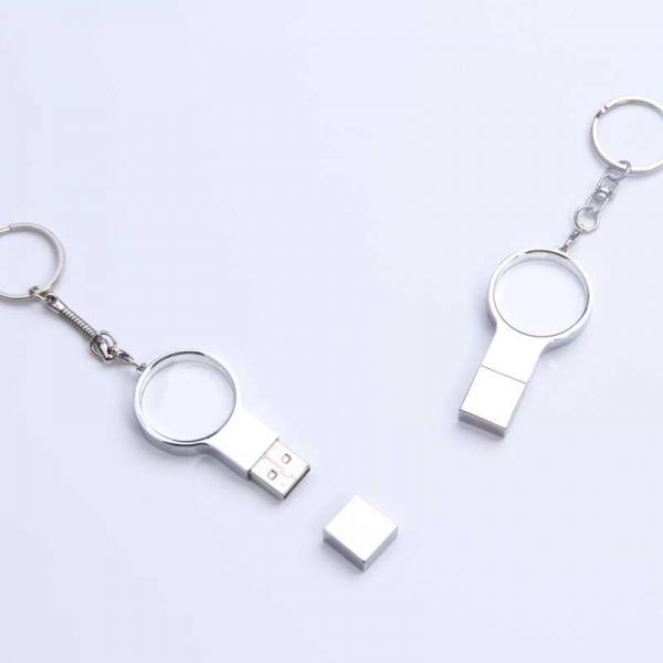 Quality Custom laser logo crystal USB stick 2G,swarovski crystal usb pen drive for sale
