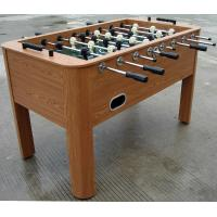 Wooden Soccer Game Table PVC Lamination Steel Rod Robot Player For Club