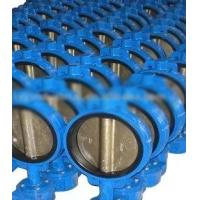 China Flange / Butt Welding End Connection 2 - 64 Wafer Stainless Steel Butterfly Valves on sale