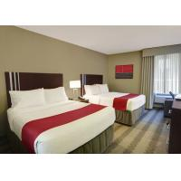 China Holiday Inn Modern Hotel Bedroom Furniture , Hotel Room Furnishings wholesale
