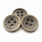 China los botones del metal de 15m m, los diversos tamaños son diseños disponibles, modificados para requisitos particulares y se aceptan los logotipos wholesale