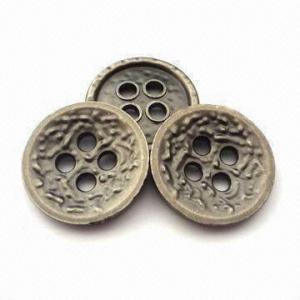 China os botões do metal de 15mm, vários tamanhos são projetos disponíveis, personalizados e os logotipos são aceitados wholesale