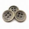 Buy cheap os botões do metal de 15mm, vários tamanhos são projetos disponíveis, personaliz from wholesalers