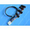 China Cable de transmisión del SAS del puerto dual de SFF 8087 a de SFF 8482 SAS a la longitud los 0.65m del SAS wholesale