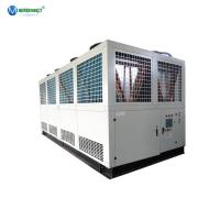 China Air Cooled Screw Compressor Chiller 80Ton 270Kw R22 R134A R407C Industrial Water Chiller on sale