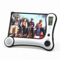 China Voice Recorder Photo Frame with LCD Clock and Radio wholesale