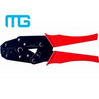 China 22 - 10 AWG Wire Terminal Crimper , MG - 03C Carbon Steel Electrical Terminal Crimping Tool wholesale