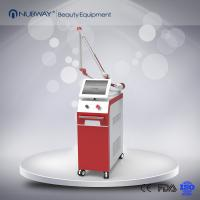 2017 nd yag laser machine with 532nm 1064nm 755nm for tattoo removal,with CE certification.Sliver white grey red optiona